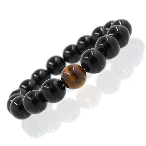Bracelet Crystal black