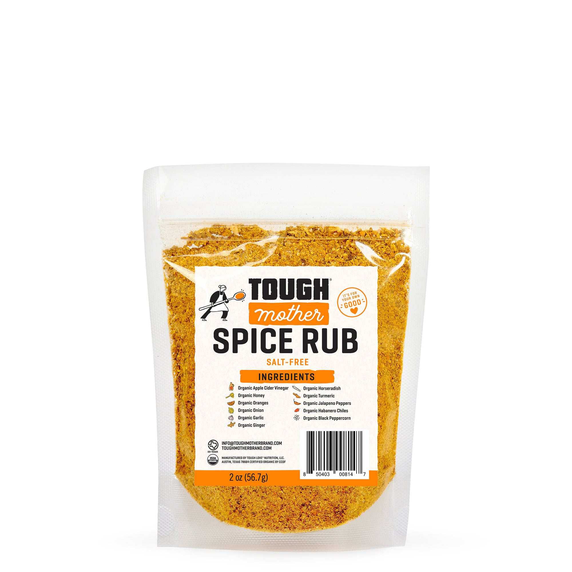 Tough Mother Salt-Free Spice Rub