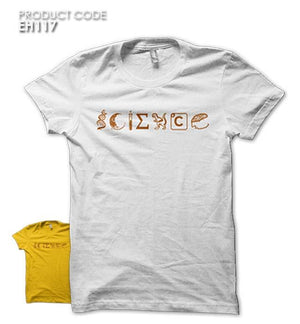 SCIENCE  Half Sleeves Tshirt (EH117)
