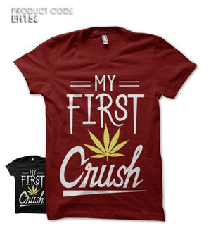 MY FIRST CRUSH Half Sleeves Tshirt (EH156)