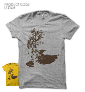 EAGLE TREE Half Sleeves Tshirt (EH165)