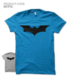 BLACK BATMAN Half Sleeves Tshirt (EH196)
