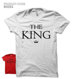 THE KING Half Sleeves Tshirt (EH254)