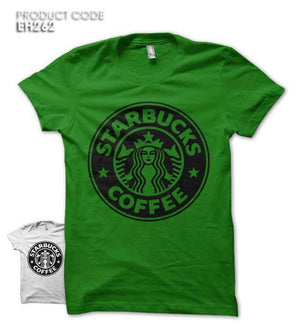 STARBUCKS COFFEE Half Sleeves Tshirt (EH262)