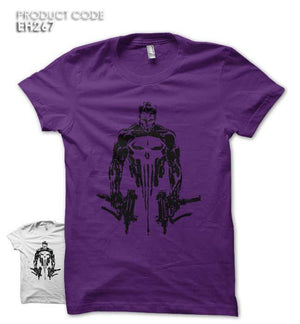 PUNISHER GUN Half Sleeves Tshirt (EH267)