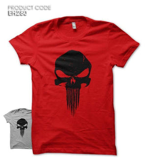PUNISHER SKULL Half Sleeves Tshirt (EH280)