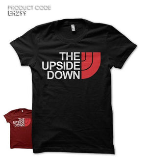 THE UPSIDE DOWN Half Sleeves Tshirt (EH299)