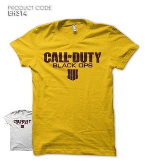 CALL OF DUTY BLACK OPS Half Sleeves Tshirt (EH314)