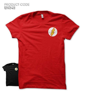 FLASH LOGO POCKET Half Sleeves Tshirt (EH244A)