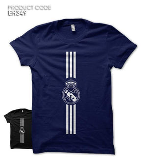 REAL MADRID LINES Half Sleeves Tshirt (EH349)