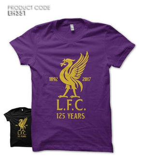 LIVERPOOL 125 YEARS Half Sleeves Tshirt (EH351)