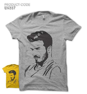 DAVID BECKHAM Half Sleeves Tshirt (EH357)