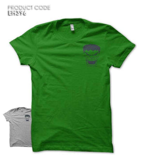 HULK FACE POCKET Half Sleeves Tshirt (EH279A)