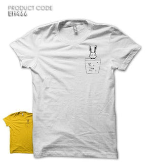 PUT ME IN YOUR POCKET Half Sleeves Tshirt (EH466A)