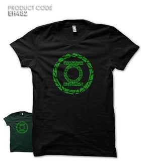 GREEN LANTERN TILES LOGO Half Sleeves Tshirt (EH482)