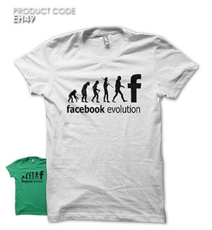 FB EVOLUTION  Half Sleeves Tshirt (EH49)