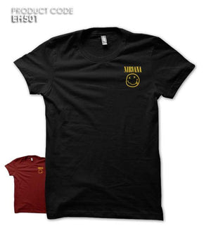 NIRVANA LOGO POCKET Half Sleeves Tshirt (EH501A)
