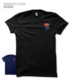 SUPERMAN BOY POCKET Half Sleeves Tshirt (EH241A)