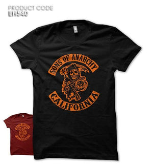 SONS OF ANARCHY Half Sleeves Tshirt (EH540)
