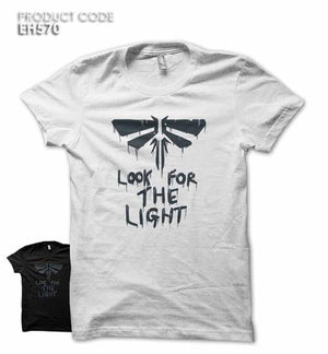 LOOK FOR THE LIGHT Half Sleeves Tshirt (EH570)