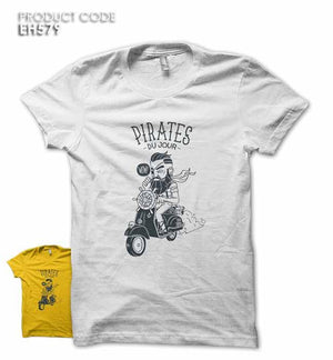PIRATES DU JOUR Half Sleeves Tshirt (EH579)