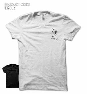 WINTER IS COMING POCKET Half Sleeves Tshirt (EH431A)