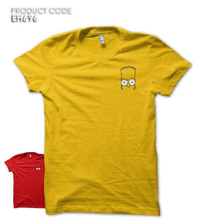 SIMPSON ALL POCKET Half Sleeves Tshirt (EH715A)