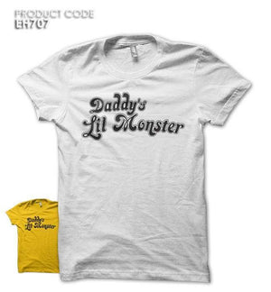 DADDY LIL MONSTER Half Sleeves Tshirt (EH707)
