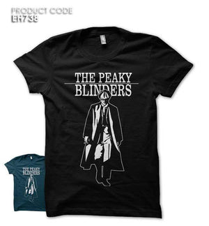 THE PEAKY BLINDERS Half Sleeves Tshirt (EH738)