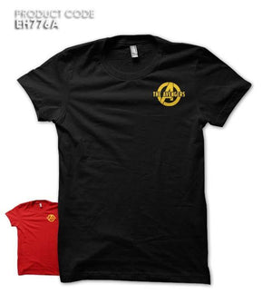 THE AVENGERS POCKET Half Sleeves Tshirt (EH776A)