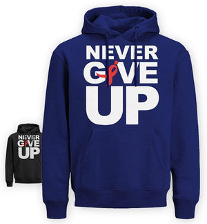 NEVER GIVE UP  HOODIE (EK142)