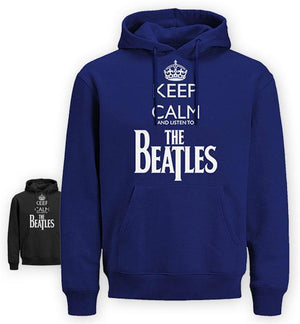 KC LISTEN TO THE BEATLES  HOODIE (EK83)