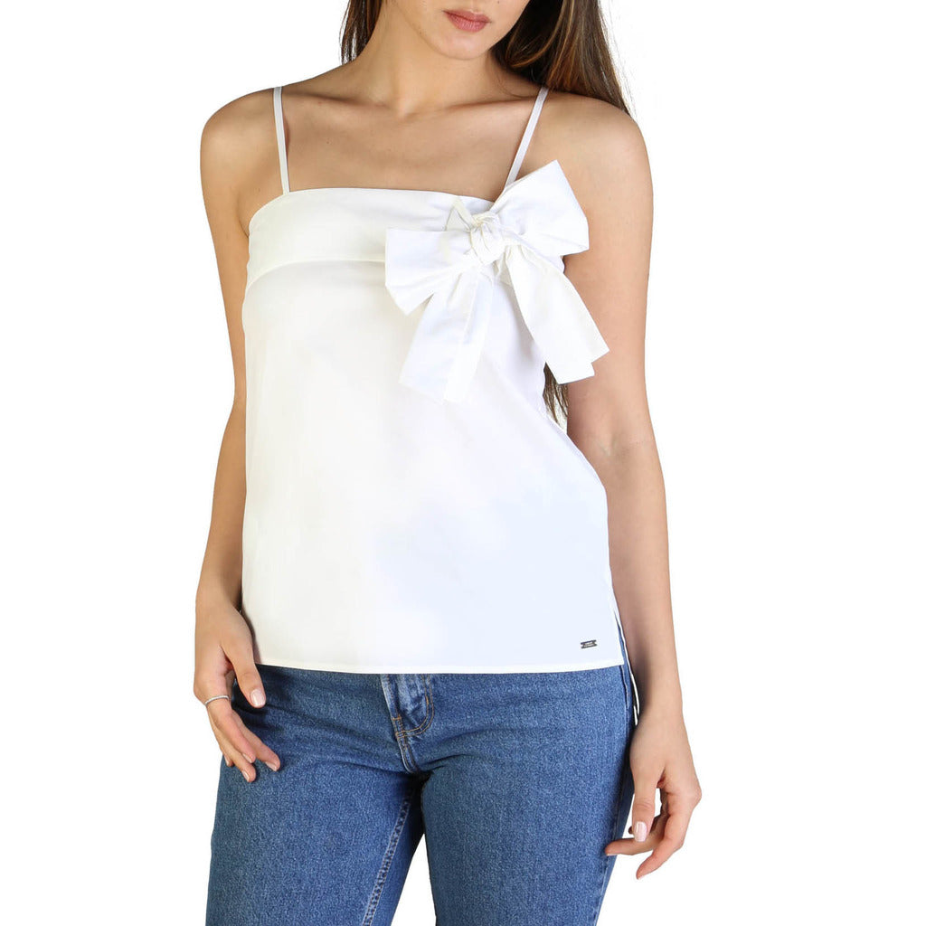 Armani Exchange Top Donna Bianco Mod. 3GYH54_YNP9Z