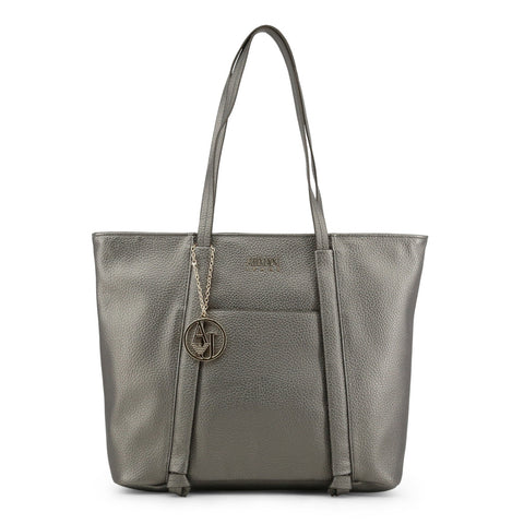 Armani Jeans Borsa Donna Grigia Shopping Bag Mod. 922341_CD813