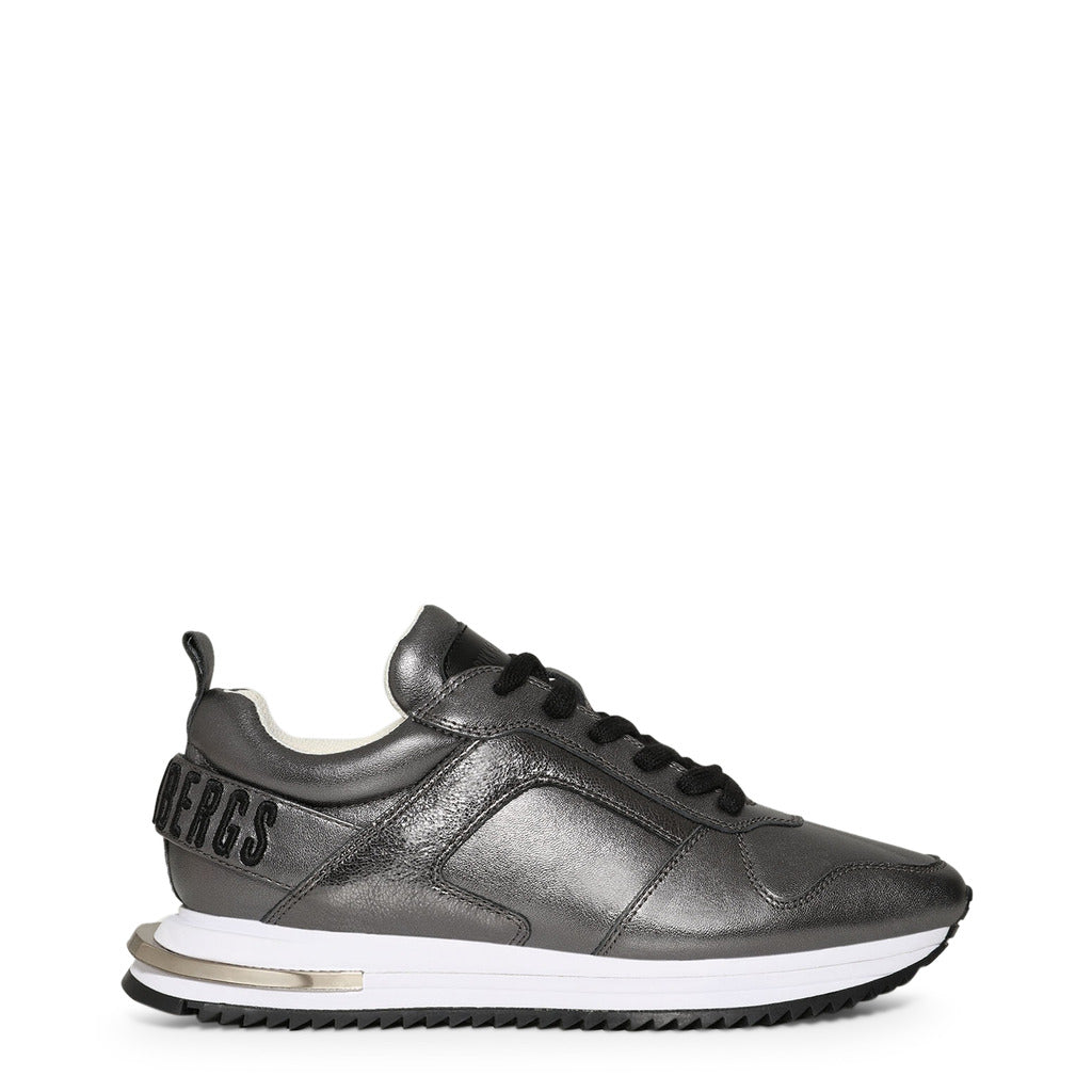 Bikkembergs Sneakers Donna Argento Basse Stringate Mod. B4BKW0041