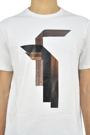 Neil Barrett T-shirt Wood