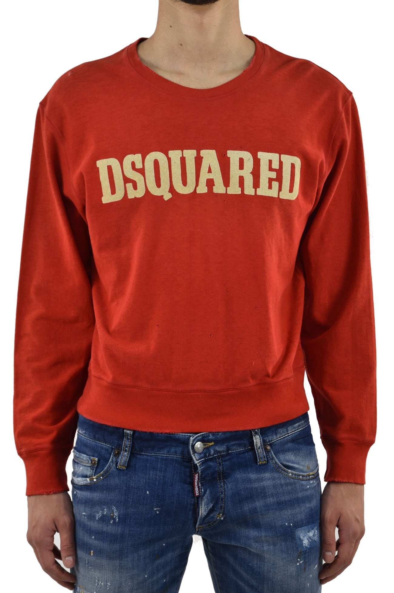 Dsquared2 Felpa Rossa Dsquared