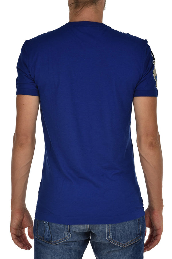 Dolce&Gabbana T-Shirt Patches Blu