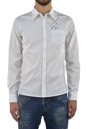 Dsquared2 Camicia Bianca Note