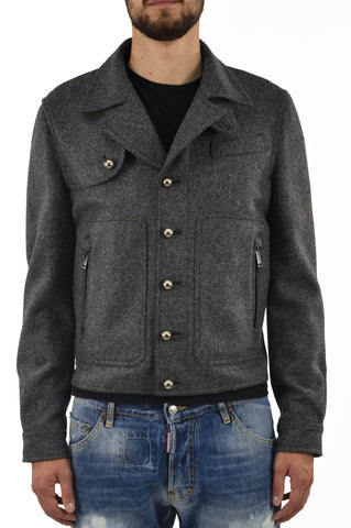 Dsquared2 Cappotto con Bottoni