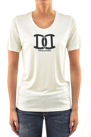 Dsquared2 T-Shirt Crema DC