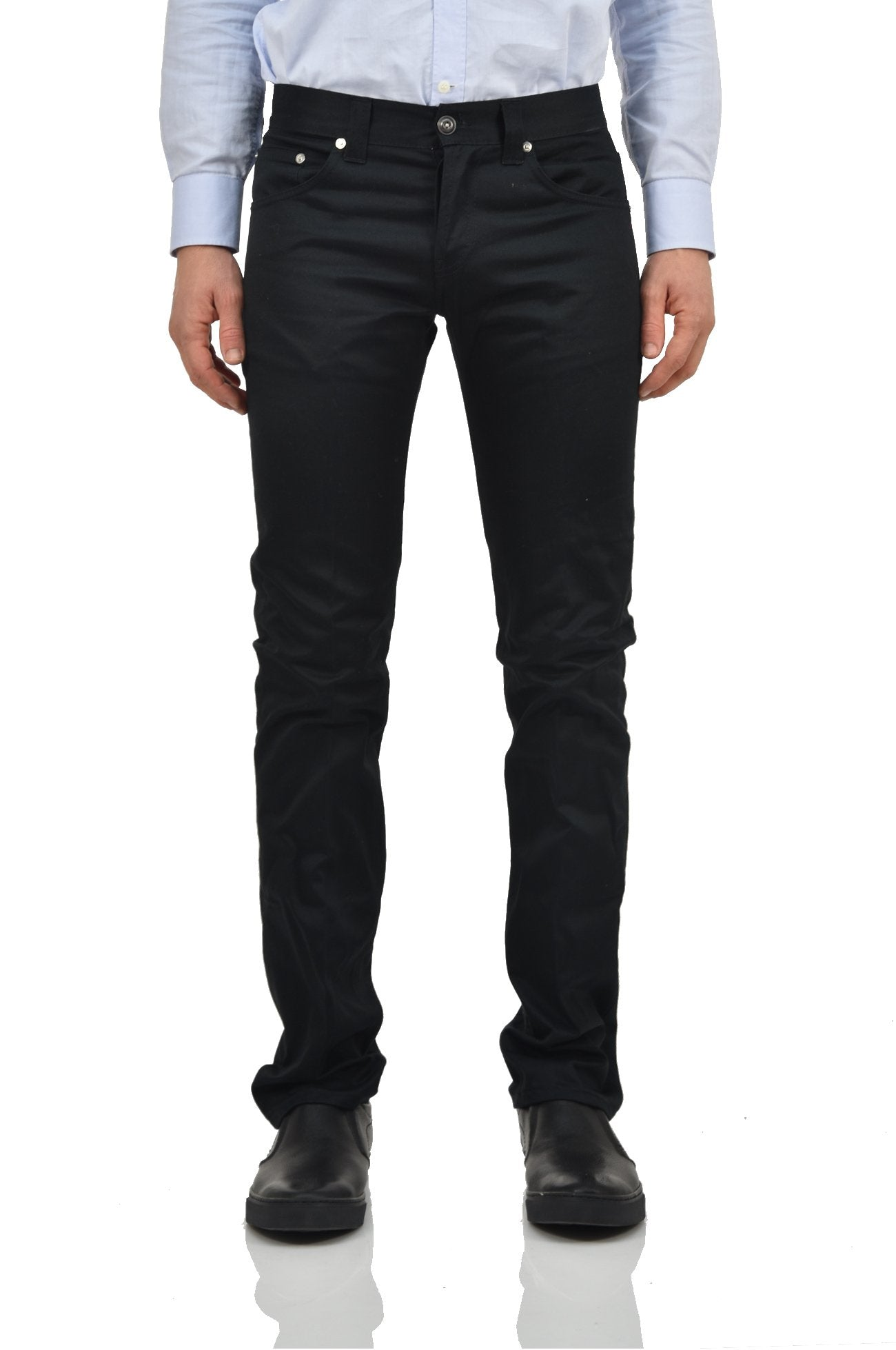 Dondup Pantaloni Nero Uomo Mod.MUSIC-UP008A441UXXX999