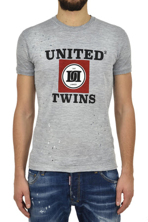 Dsquared2 T Shirt UNITED TWINS