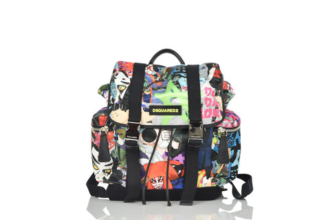 Dsquared2 Zaino Japan Multicolor Fantasia Manga Mod. W16BP10021028M0372