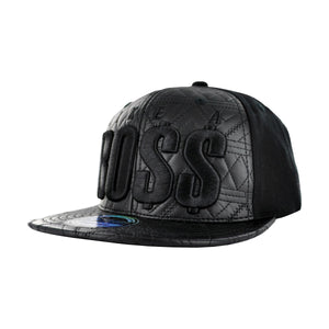 MEN'S QUILTED 'LIKE A BOSS' SNAPBACK