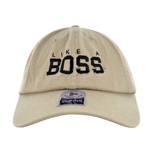 MEN'S 'LIKE A BOSS' DAD HAT