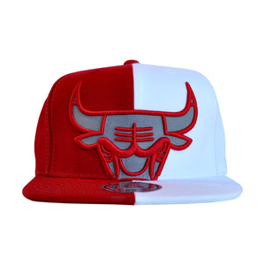 MEN'S NBA CHICAGO BULLS SNEAK CROPPED SPLIT SNAPBACK