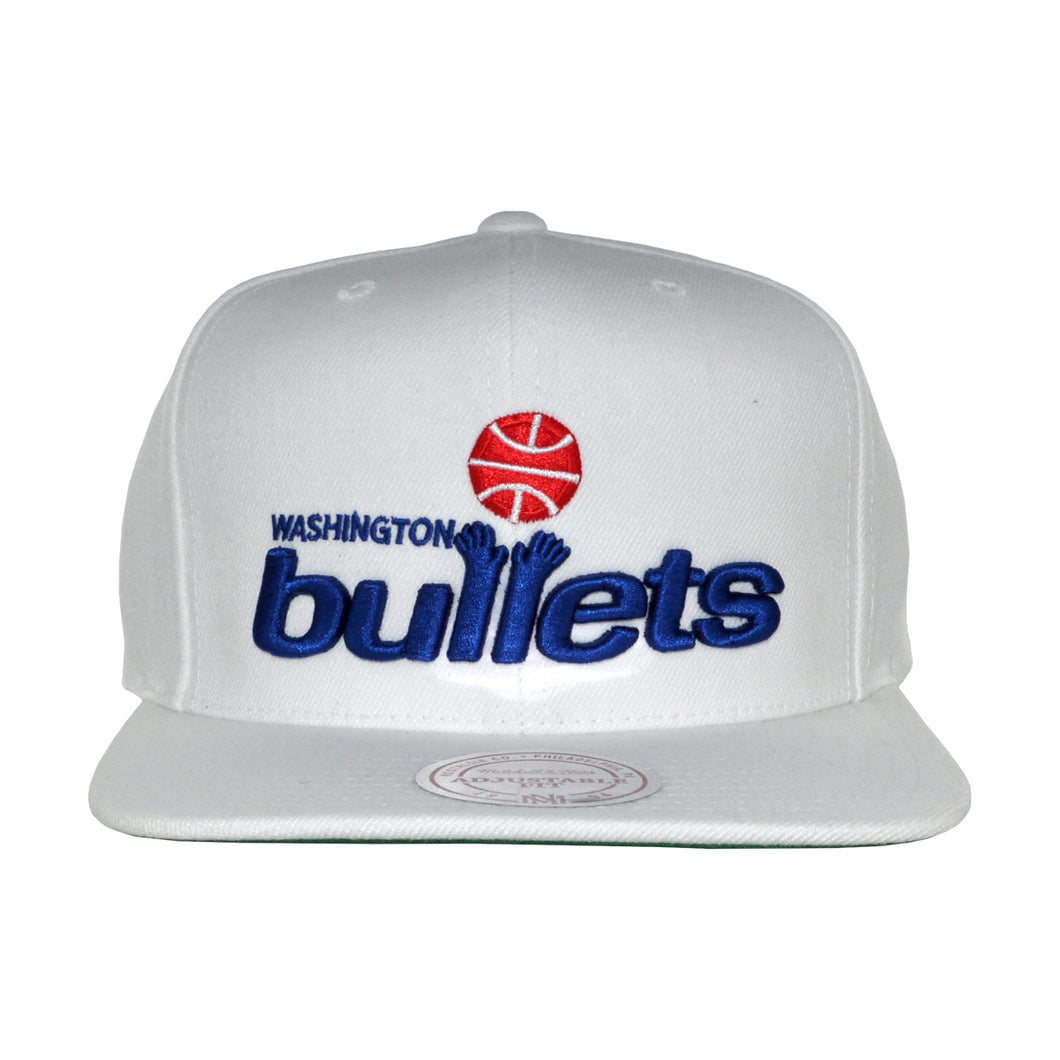 MEN'S NBA WASHINGTON BULLETS SNAPBACK