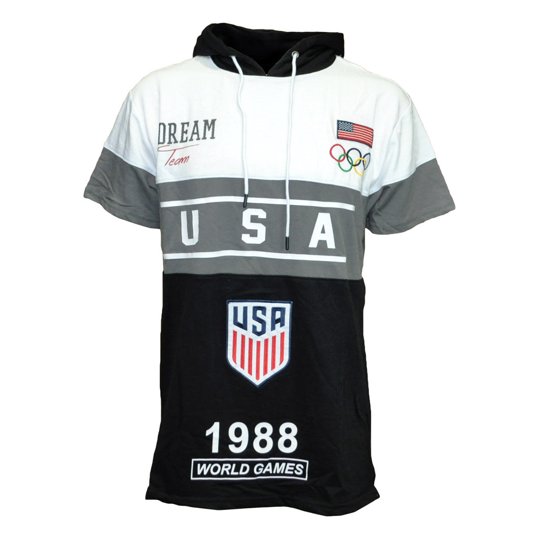 MEN'S USA DREAM SS HOODY