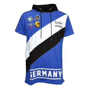 MEN'S FAST N FURY GERMANY SS HOODY